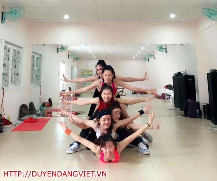 lop aerobic duyen dang viet