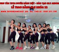 Khai Giảng Lớp Đào tạo HLV AEROBIC, YOGA & ZUMBA, DANCE T1/2016