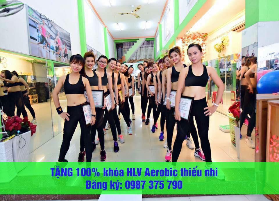 khai giảng lớp yoga, zumba fit, aerobic khóa 32