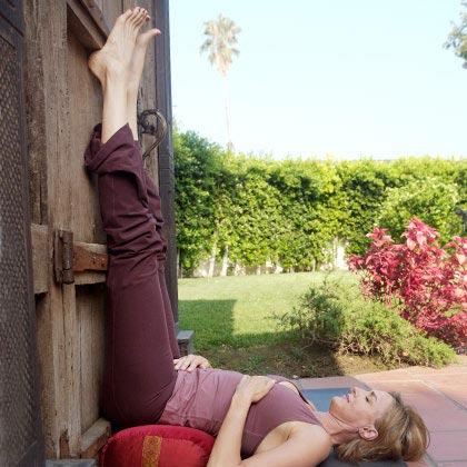 tap yoga cho ba bau