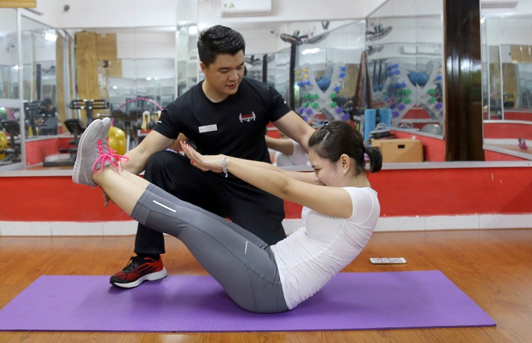 huan luyen vien yoga