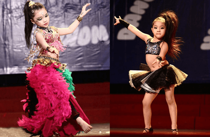 dance sport cho trẻ em