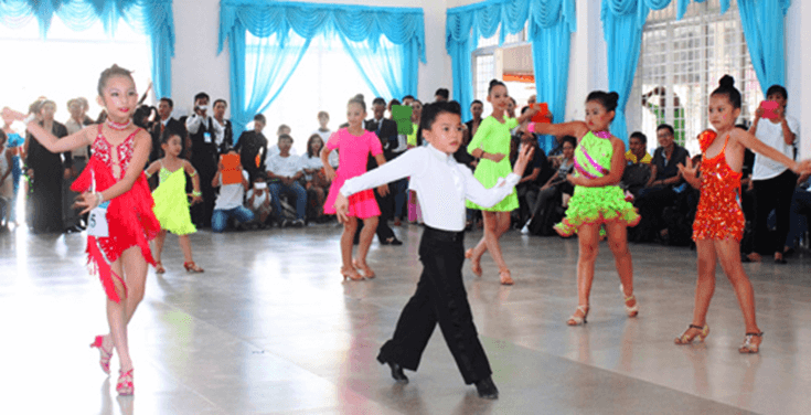 dance sport cho trẻ nhỏ