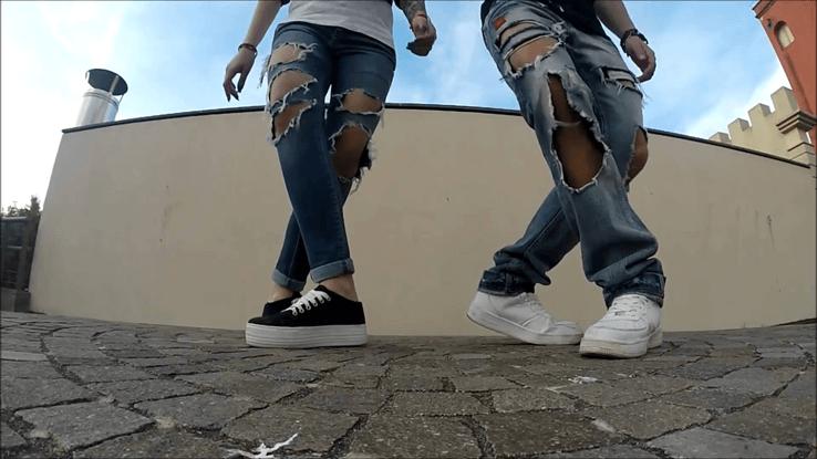 HLV shuffle dance