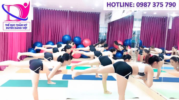 thể dục thẩm mỹ Duyên Dáng Việt