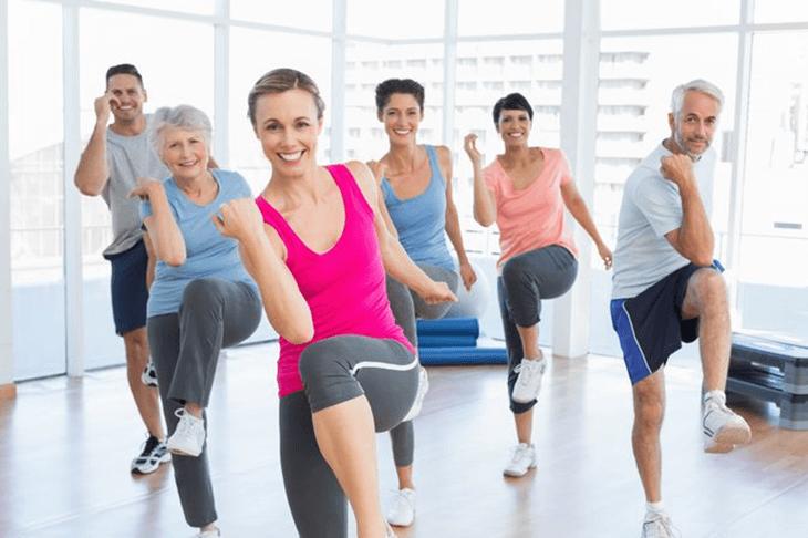 thể dục thẩm mỹ cho sức khỏe dẻo dai