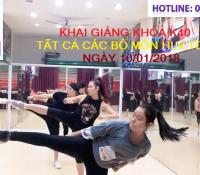 DUYÊN DÁNG VIỆT ĐỒNG LOẠT KHAI GIẢNG KHÓA K40 HLV TDTM NGÀY 10/01/2018