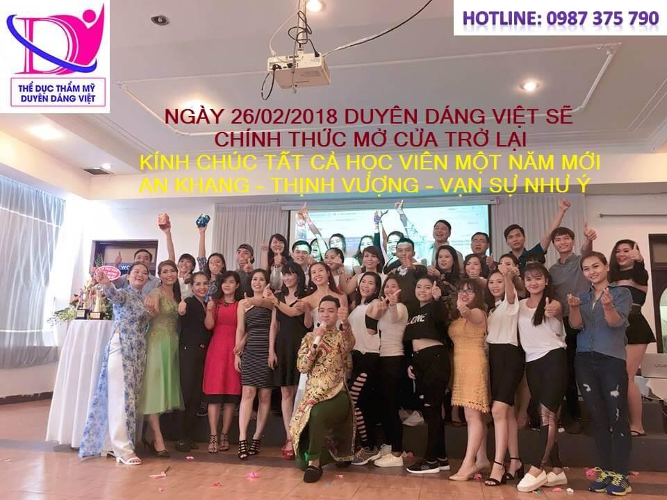 Duyên Dáng Việt chính thức hoạt độn trở lại