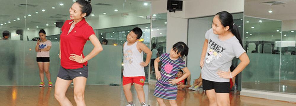 Khai giảng lớp HLV aerobic thiếu nhi