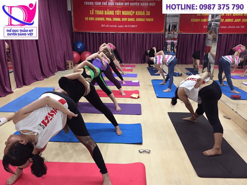 Duyên Dáng Việt nơi rèn luyện giảm béo cùng TDTM