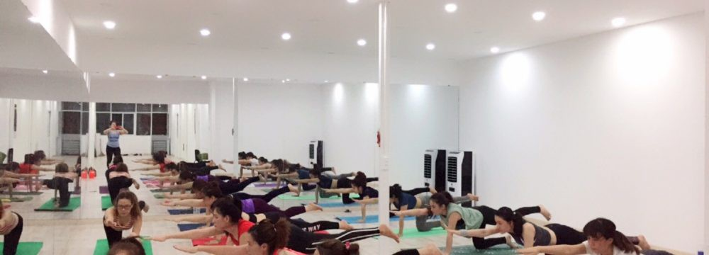 Khai giảng khóa HLV yoga tổng hợp combo 4 môn