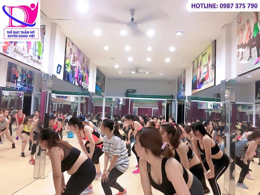 Combo 5 môn thể dục thẩm mỹ cấp bằng trọn đời tại Duyên Dáng Việt