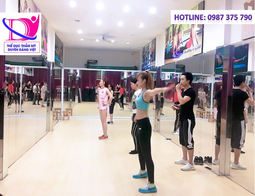 Tập aerobic hỗ trợ giảm cân nhanh chóng