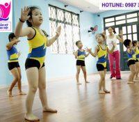 AEROBIC KIDS – MÔN HỌC THÚ VỊ PHÁT TRIỂN TOÀN DIỆN CHO CÁC BÉ