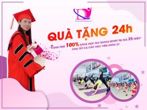 Free 100% khóa huấn luyện viên khiêu vũ tại TT Duyên Dáng Việt
