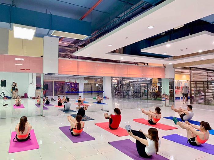 Phòng đào tạo HLV yoga tại Hà Nội hiện đại chuyên nghiệp