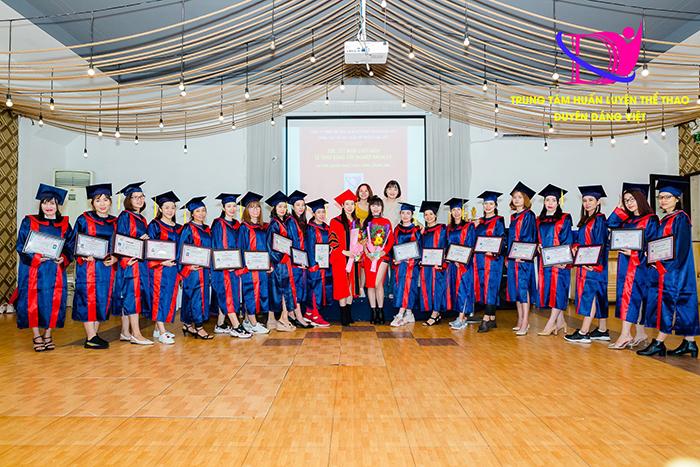 Cấp ngay chứng chỉ sau khóa đào tạo HLV zumba tại Hà Nội