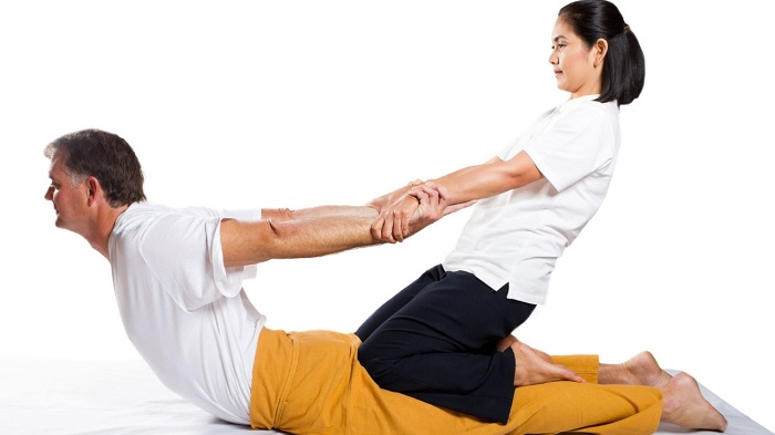 yoga massage thái
