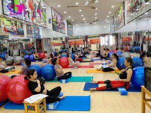 Lớp học đào tạo huấn luyện viên yoga bầu tại TPHCM