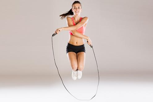 nhảy dây giảm cân