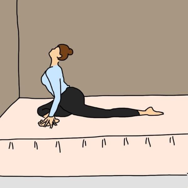 10 dong tac yoga dơn gian nen tap truoc khi di ngu