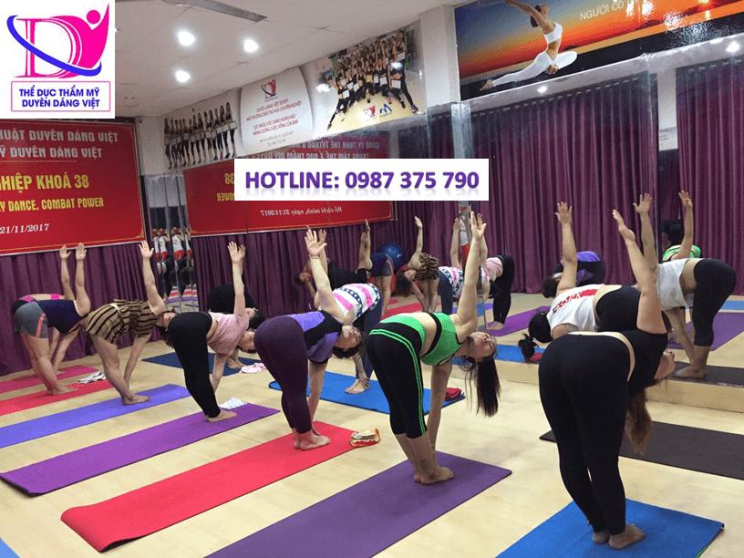 Duyên Dáng Việt đơn vị có hơn 11 năm kinh nghiệm đào tạo huấn luyện viên Yoga