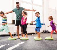 Chiêu sinh lớp dạy nhảy aerobic cho trẻ em